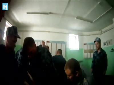 (Repost) Prison officers torture a prisoner.Russia/Yaroslavl.