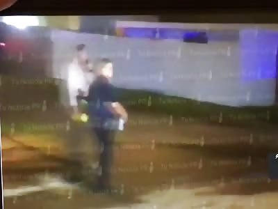 Murder aftermath in Bayamón PR 🇵🇷 11/14/2018