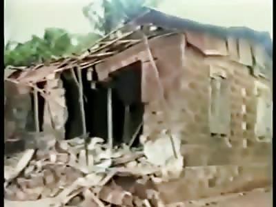 Nigerian Soldiers Bomb A village in Sierra leone