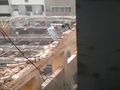 Fearless construction builder in Saudi Arabia