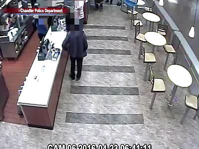 Two Police Shot at Walmart