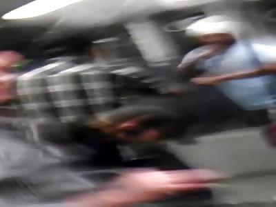 Full Vid with Audio Of The Train Katana Guy