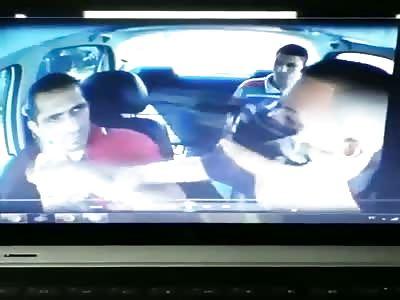 Uber driver in Brazil hahahaha