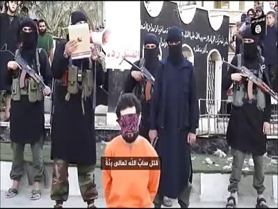 ISIS Handgun Execution In Syria's Yarmouk Refugee Camp