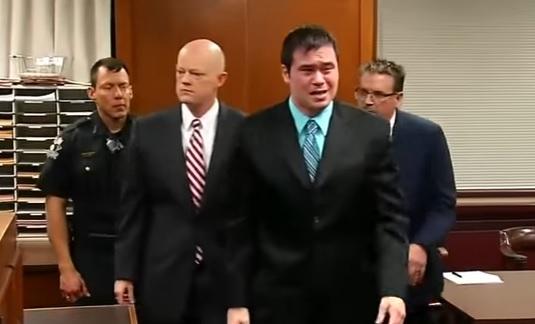 Ex-Cop breaks down when he is sentenced to 263 years in prison