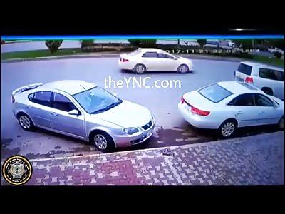 Shocking CCTV....