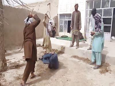 Taliban Whip Innocent Man like a Dog