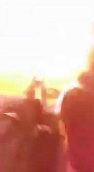 Suicide Bomber Detonates while taking Gunfire