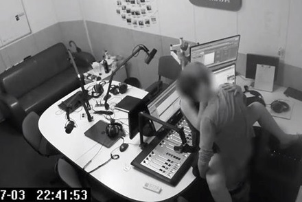 Couple caught Fucking inside Radio Station of Kiev (News Story in Description)