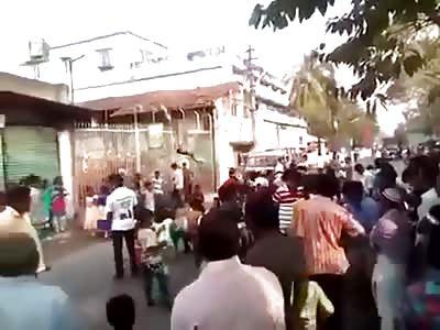 West Bengal violence.