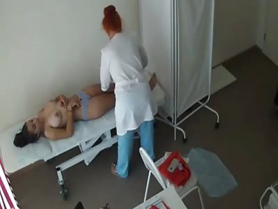 Voyeur, hidden cam, examination room