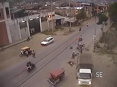 Fatal Head on Collision