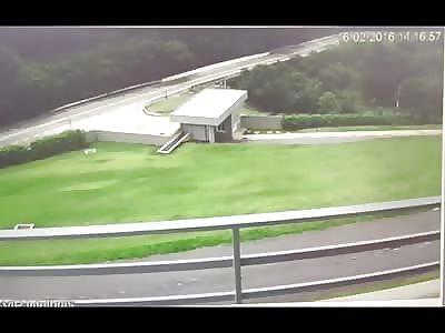 Plane Makes Emergency Landing on Street
