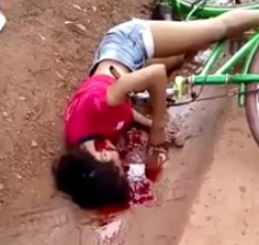 Teenage Girl Executed While Riding her Bike