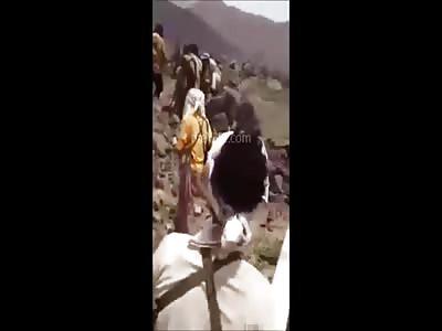 4 Daesh Members Being Executed