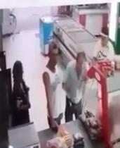 Old Man Brutally Killed Inside Supermarket with a Stick