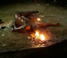 Venezuelan man burnt to death in Colombia .