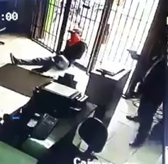 Double Murder Store CCTV