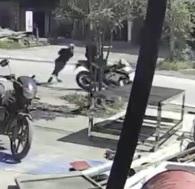 Motorcycle vs Pedestrian