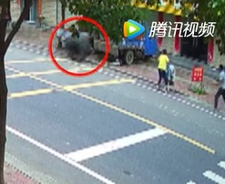 Huge Runaway Tire Kills Baby in Stroller (2 Angles)