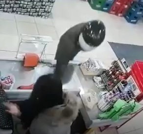 Scumbag Shoots and Kills Female Store Clerk