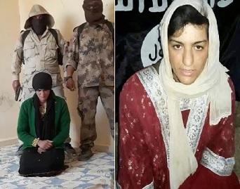 New ISIS Pistol Execution of Female Hostage