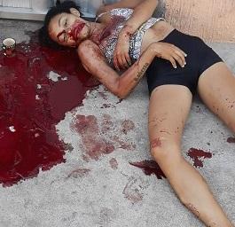 Pretty Girl Murdered.. Crime Scene