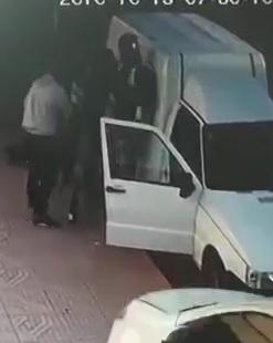 Wrong Way Dude! Car Kills 3 Guys Talking