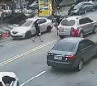 Pedestrian Struck by Motorcycle