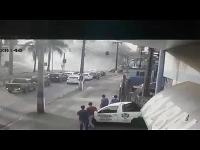 Big Rig Accident (Crash and Aftermath)
