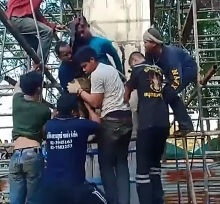 Impaled Worker