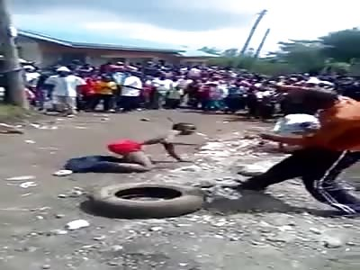 Brutal Mob Justice in Kenya