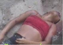 Pretty Girl Shot Dead