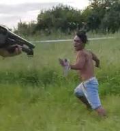 Police Go on a Criminal Safari