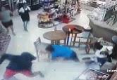 Store Owner Fights Back... Gets Stabbed
