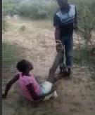 Cheating Girl Beaten by Two Men