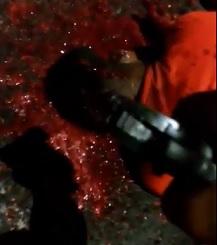 Gang Unloads Clip in Rivals Brain Spewing Head