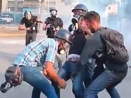 Journalist Badly Injured During Venezuelan Protests