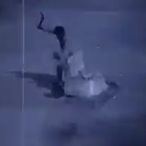 Hatchet Death on CCTV