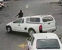 Driver Says Fuck this Guy Blocking his Car