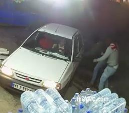 Shotgun Execution as Driver Pulls Up.