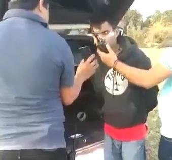Man Allowed Call Before Beatdown...