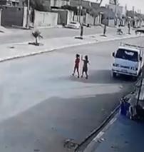 Sad: Speeding Truck Hits Little Girl