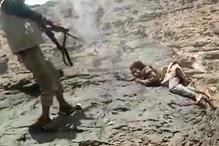 Machine Gun Execution of Enemy