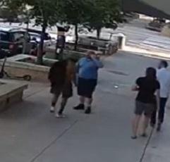 Homeless Man Instigates Fight... Regrets it.