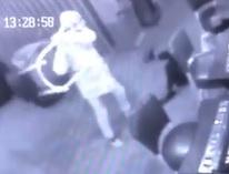 Dude Savagely Beats Girlfriend with Stool on Casino Floor