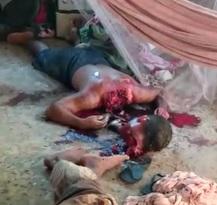 Gruesome Crime Scene Shows Beheaded Dude