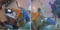 3 Machete Maniacs Attack Bar Patrons