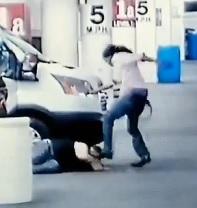 Assholes Beat and Rob man in Las Vegas Hotel Garage