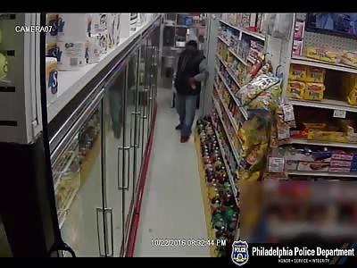 Philadelphia police release video of deli armed robbery suspect